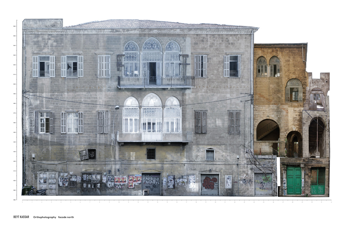 BEYT-KASSAR_orthophotography_facade-north