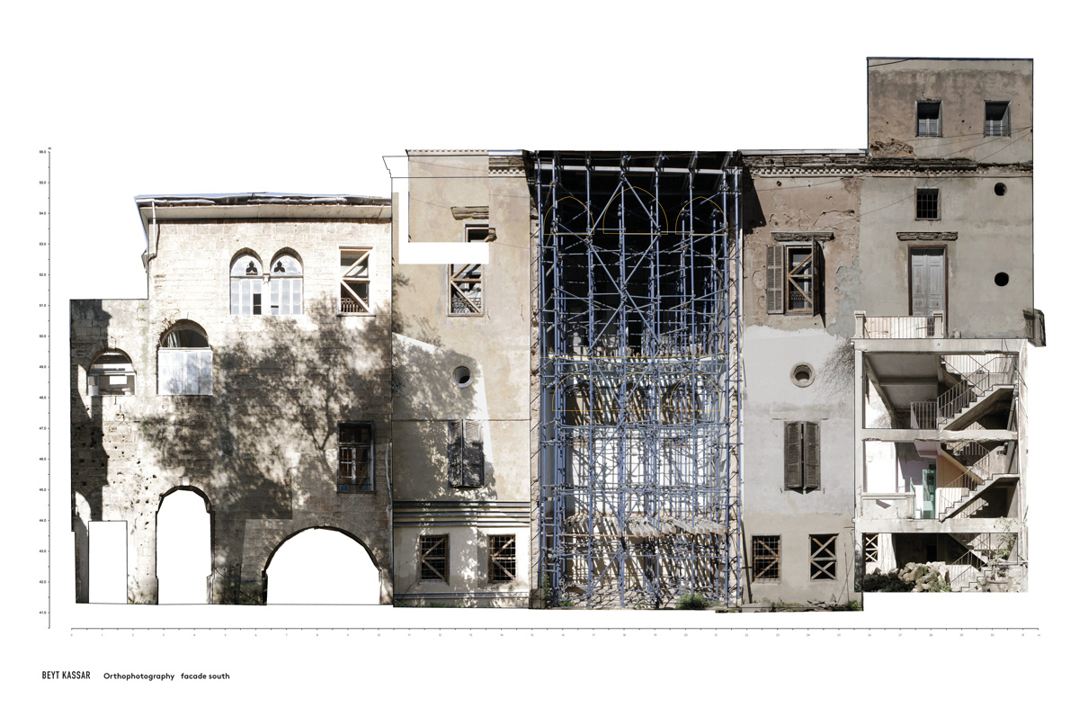 BEYT-KASSAR_orthophotography_facade-south