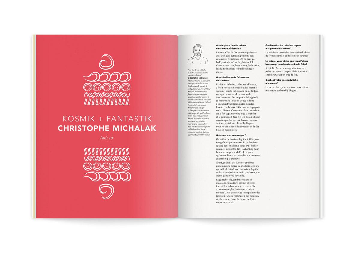 crème de la crème 2 illustration cosmik christophe michalak par ichetkar