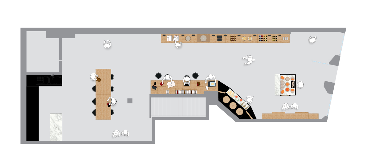 french cheese board plan couleur par ichetkar configuration concept store