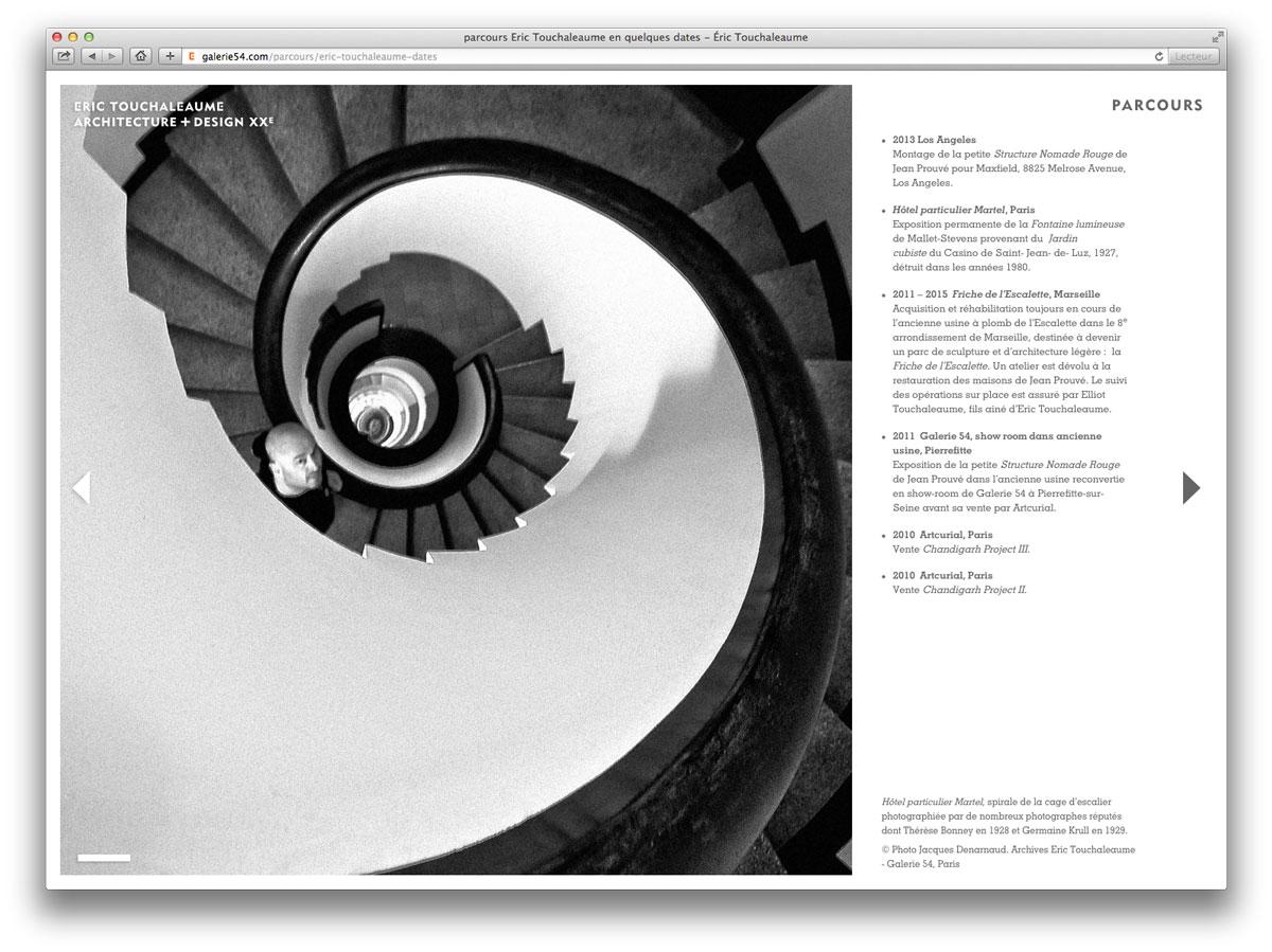 galerie 54 escalier de l\'hotel martel à paris avec fric touchaleaume
