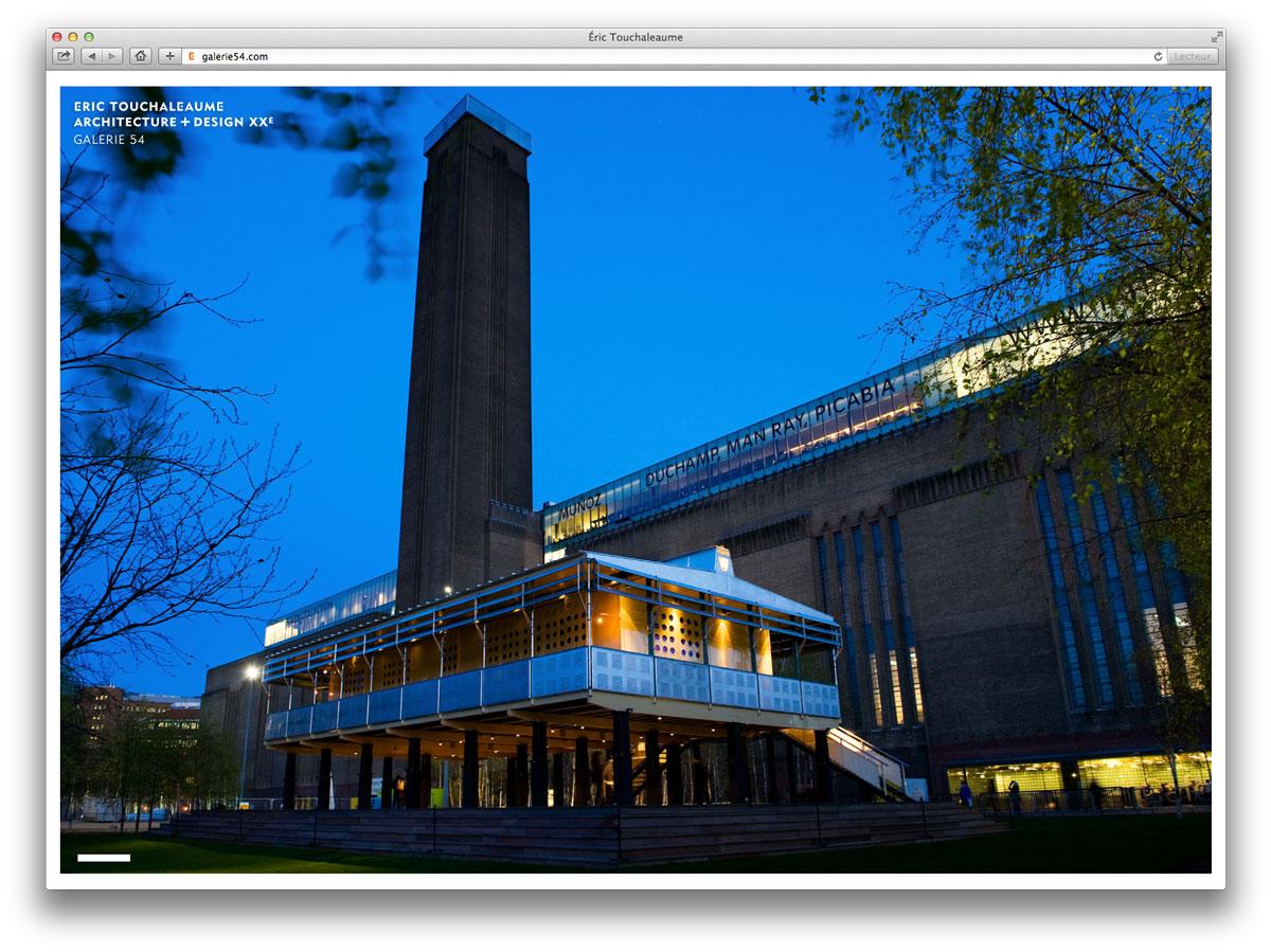 maison tropicale de Jean Prouvé à la Tate Modern à Londres en 2008