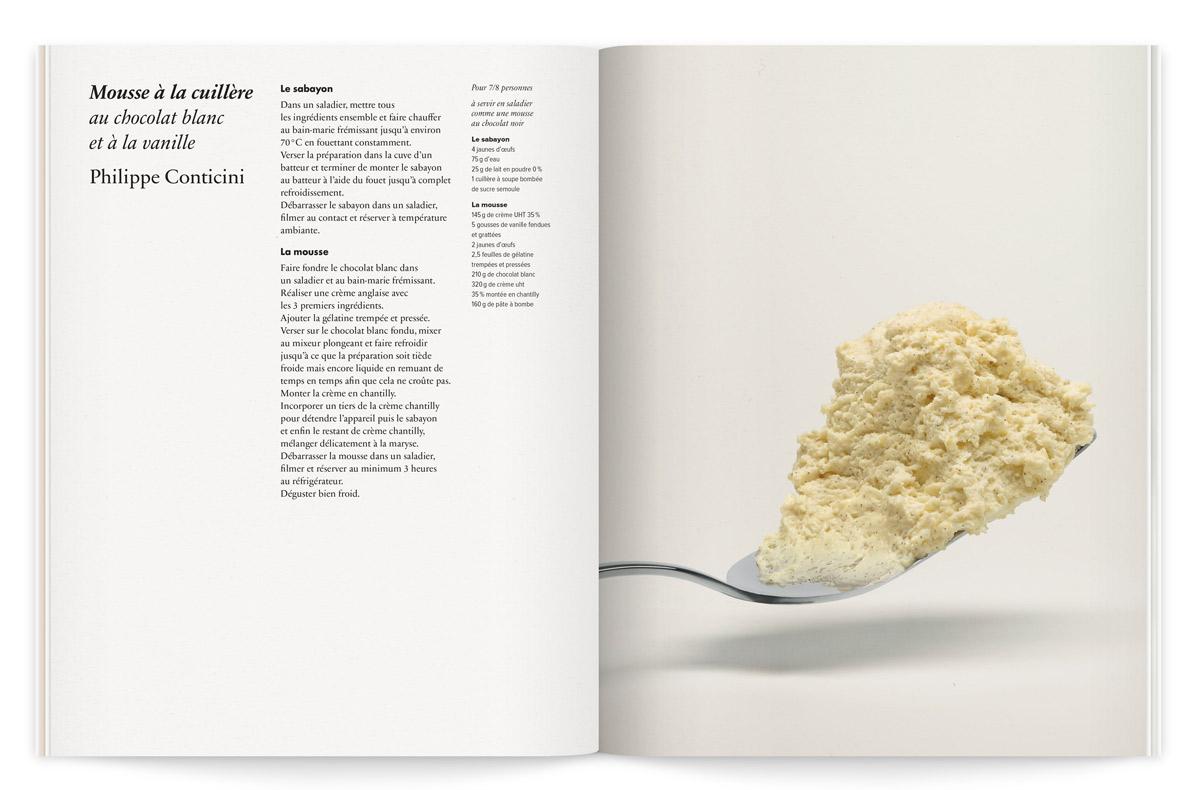 la crème de la crème catalogue recette philippe conticini ichetkar photo fabrice bouquet