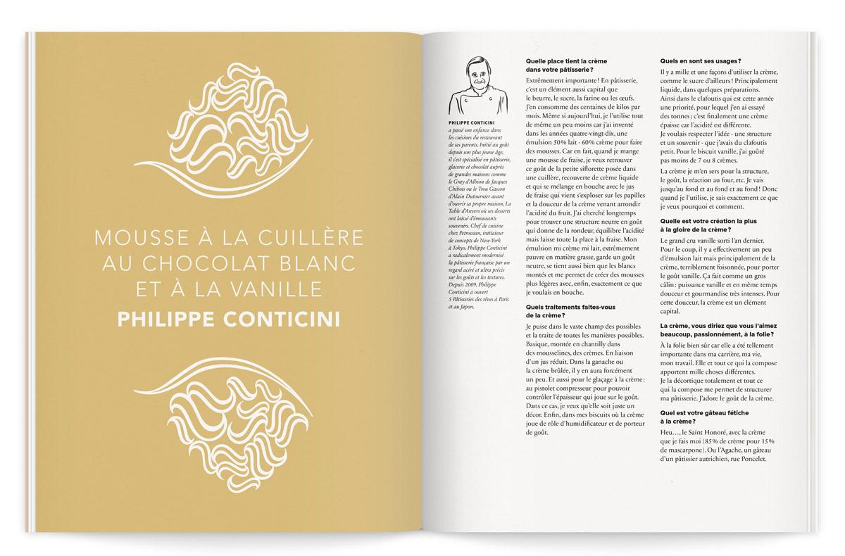 la crème de la crème catalogue illustration philippe conticini ichetkar