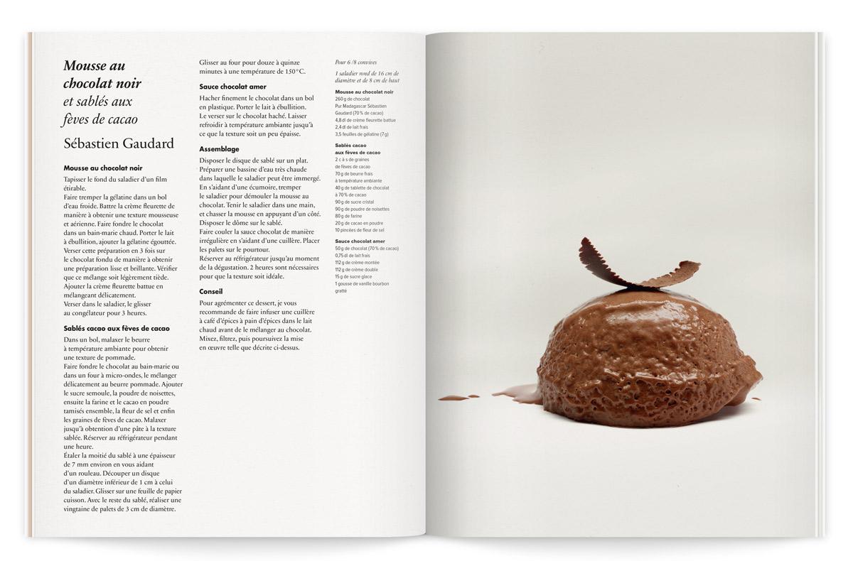 la crème de la crème catalogue recette sébastien gaudard ichetkar photo fabrice bouquet