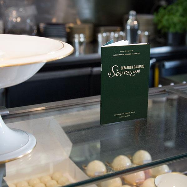 Le menu Ich&Kar accompagne l\'expérience Sèvres Café
