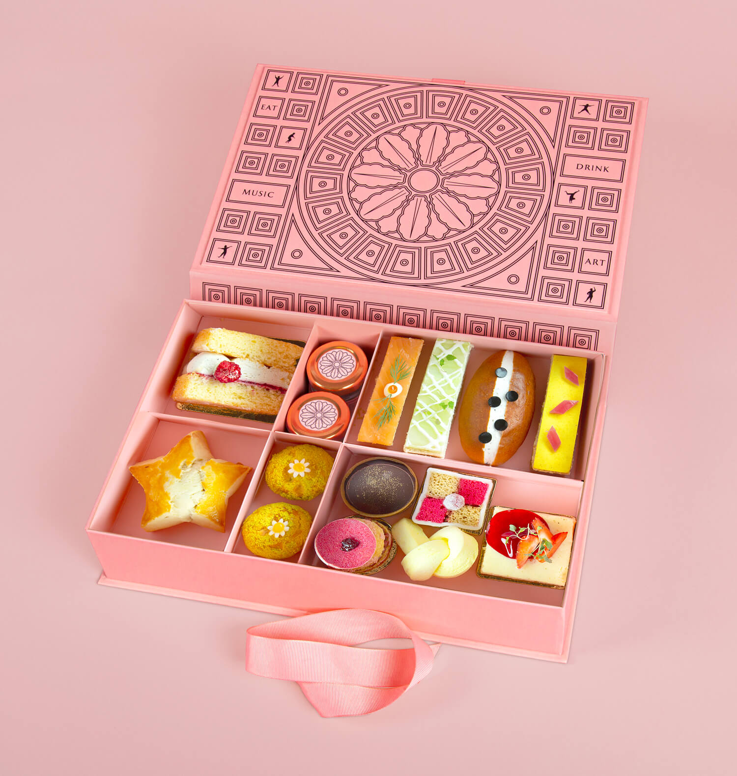 coffret afternoon tea, take-away design Ich&Kar
