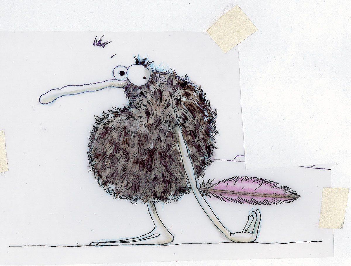 schmurk kiss cool premier dessin ich&kar Jean christophe Saurel