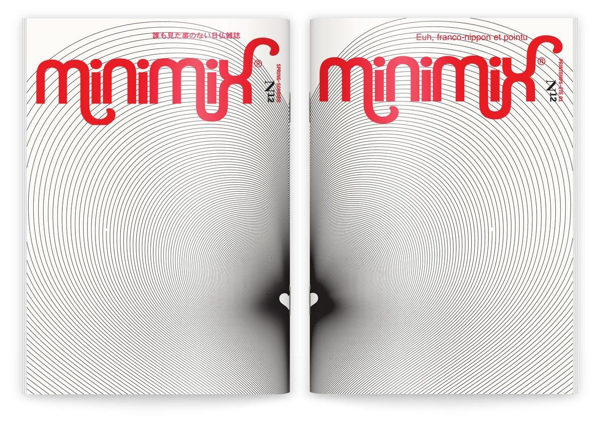 La couverture du numéro 12 du fanzine franco-nippon pointu, printemps-été 2001