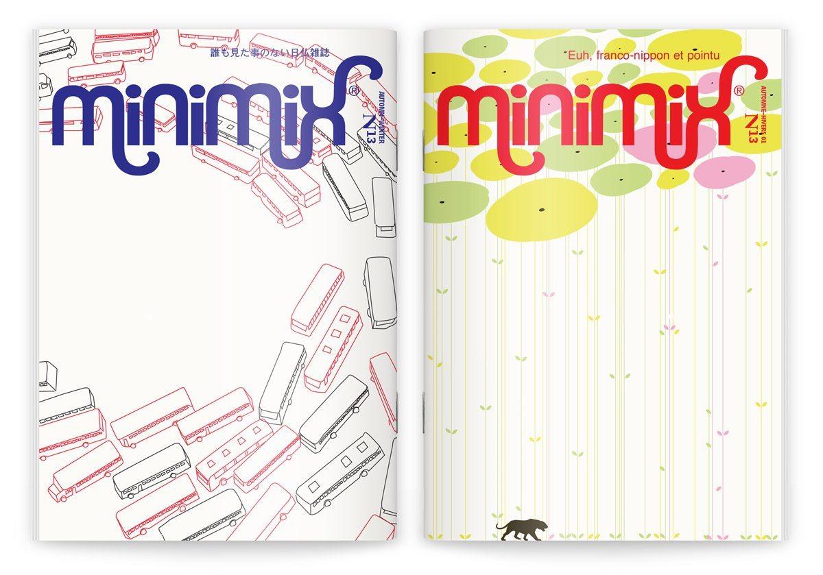 La couverture du numéro 13 du fanzine franco-nippon pointu, automne-hiver 2001/2002