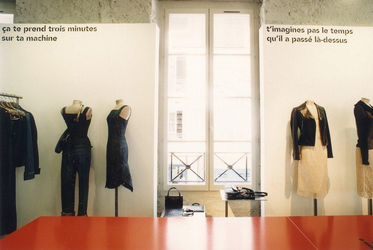 Lancement du livre Conversations chez colette, des phrases sur les murs, l'exposition dans le livre.