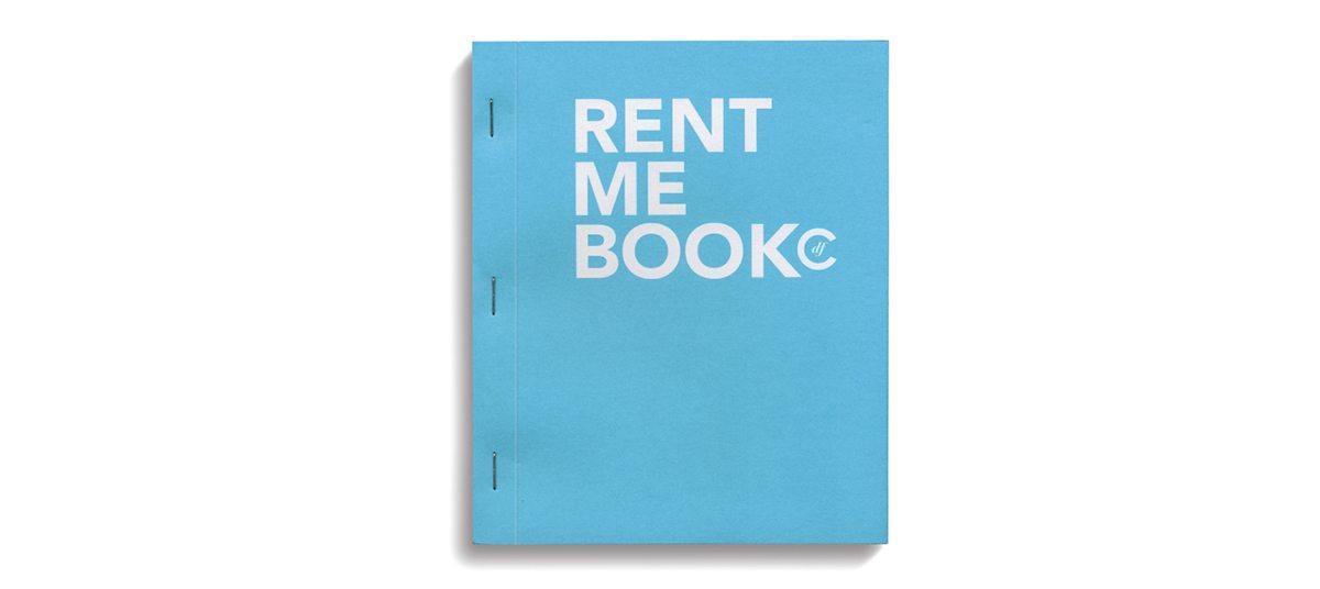 La couverture du Rent me book du condesa df, design Ichetkar