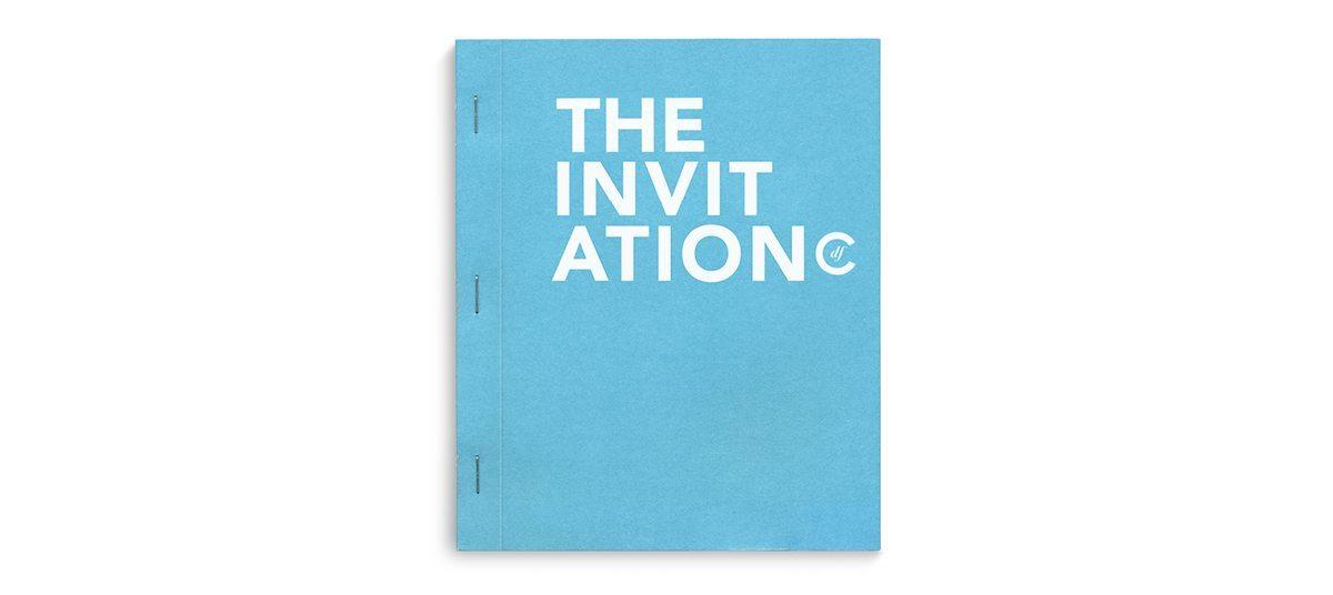 La couverture de the invitation book du condesa df, design Ichetkar