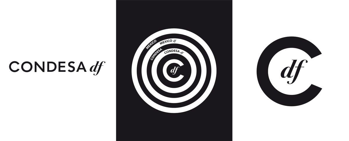 Les logos du Condesa Df, design IchetKar