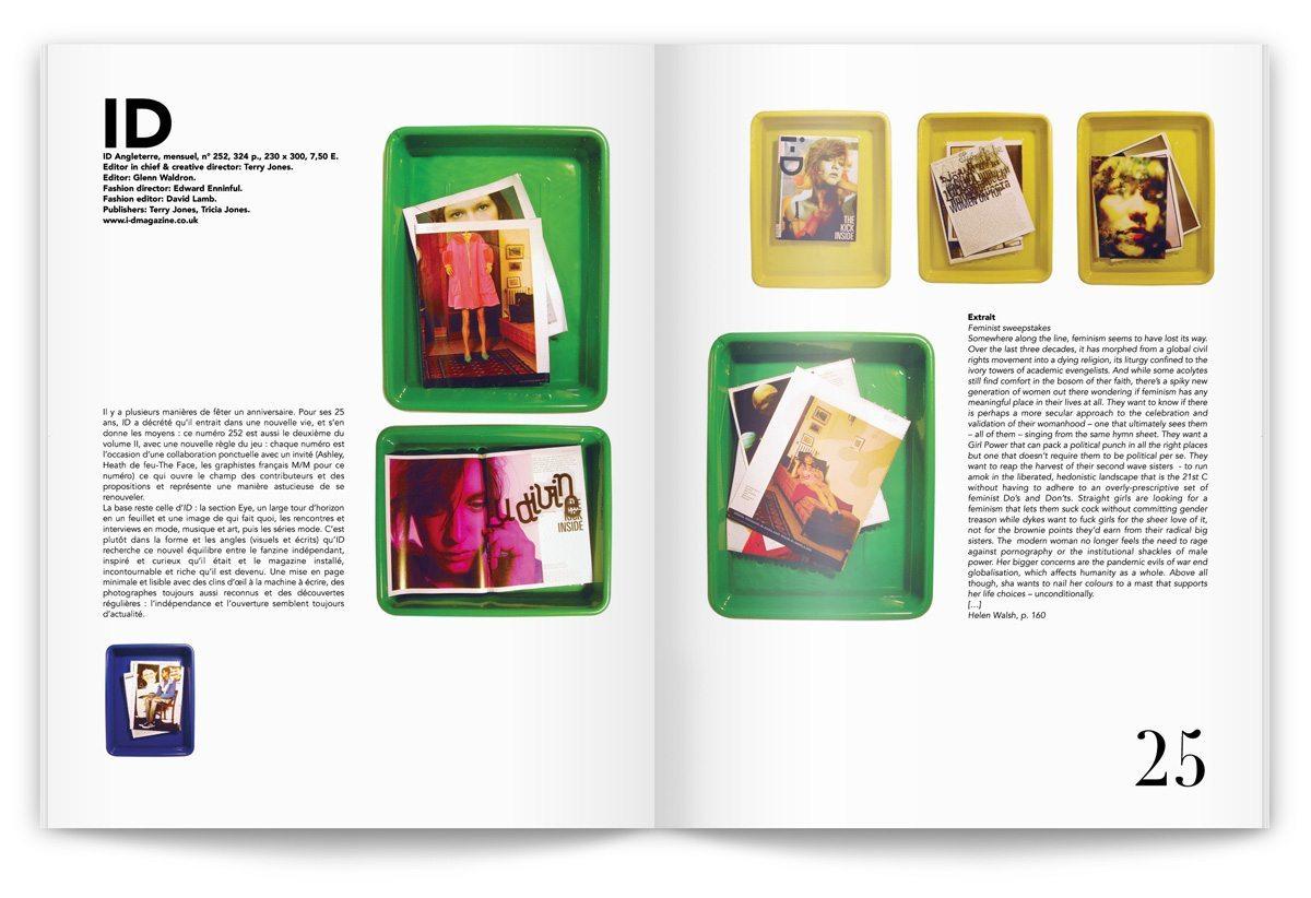 Ichetkar prend la direction artistique du magazine numéro 29