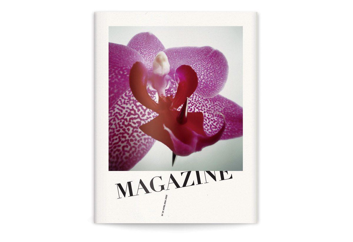 La couverture du magazine numéro 29, direction artistique par Ichetkar