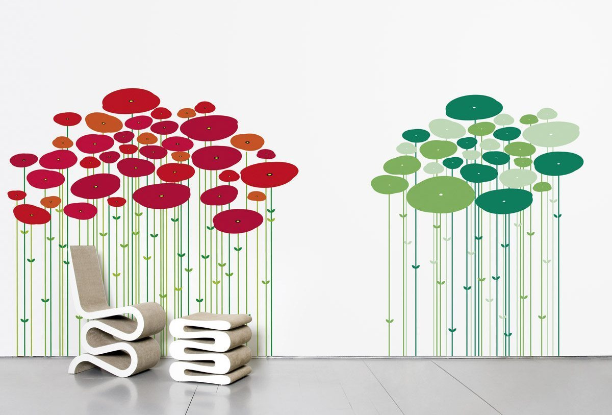 Le wallsticker Jungle, design IchetKar, édition Domestic
