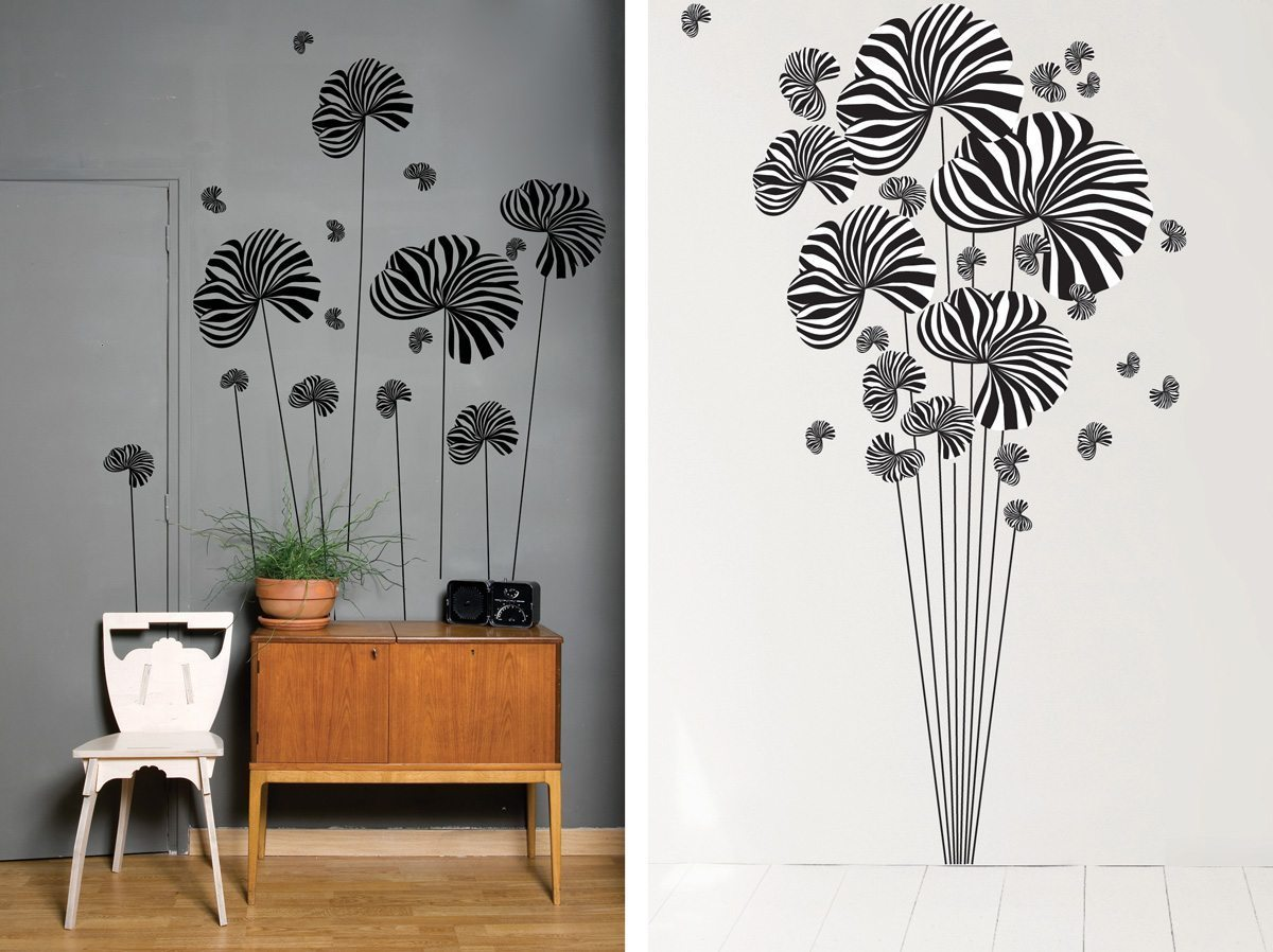 Le wallsticker Berlingot, design IchetKar, édition Domestic