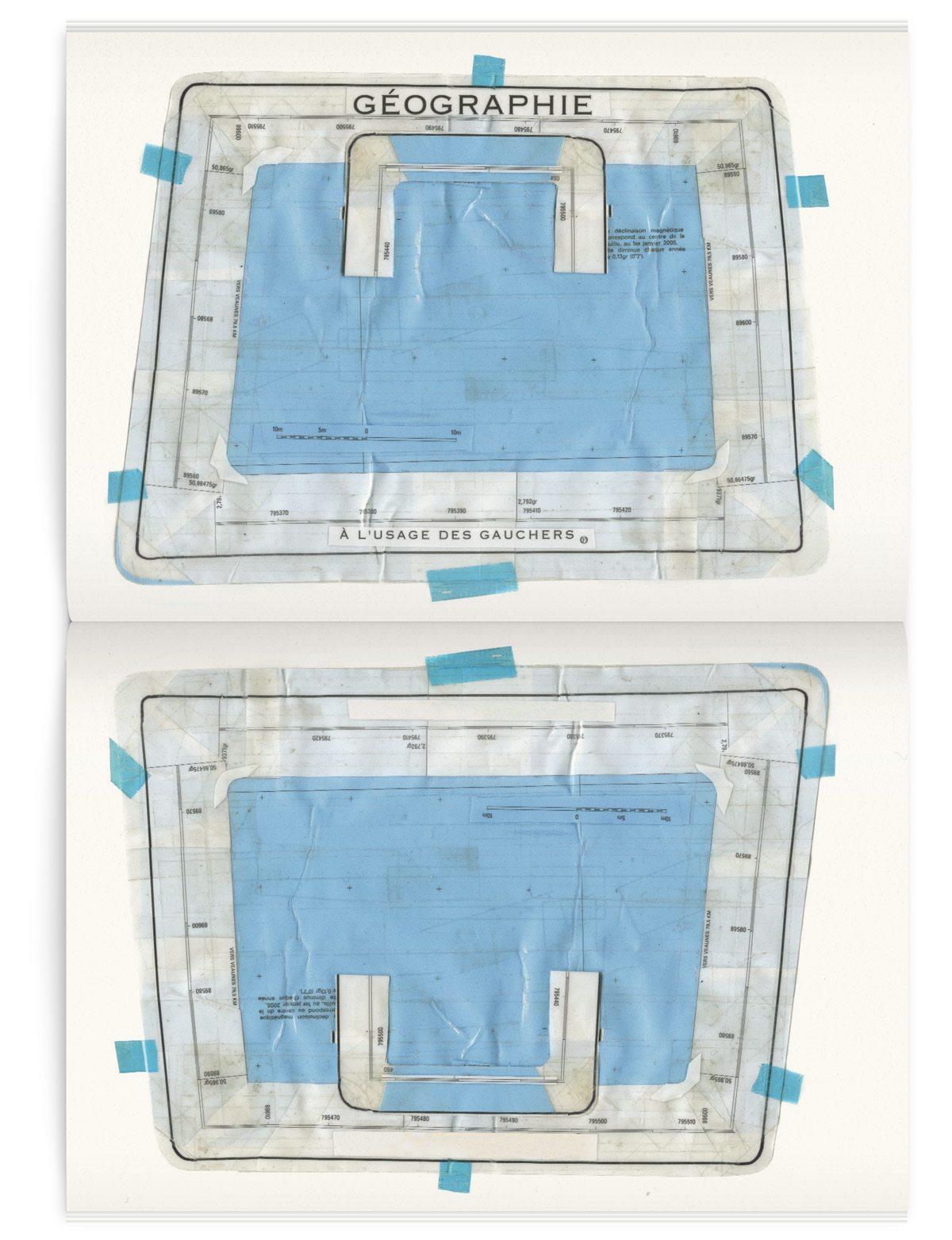 Illustration d'une valise pour gauchers dans le magazine Iconofly, revue d'art autour d'un accessoire le sac de voyage, design IchetKar