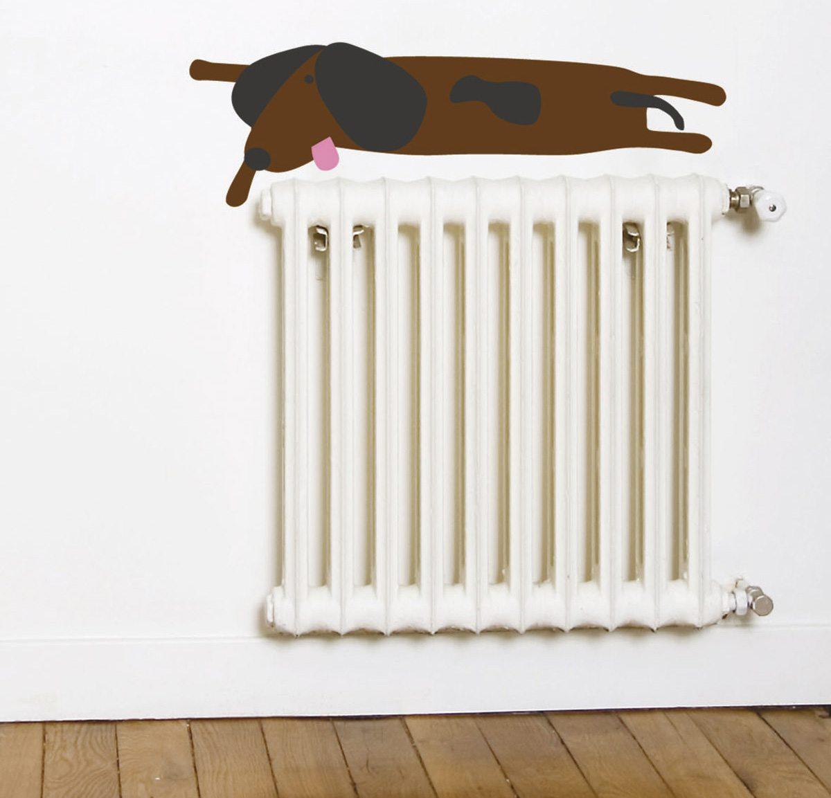 Wallsticker Dogenkit, 5 chien à personnaliser sur vos murs, design IchetKar