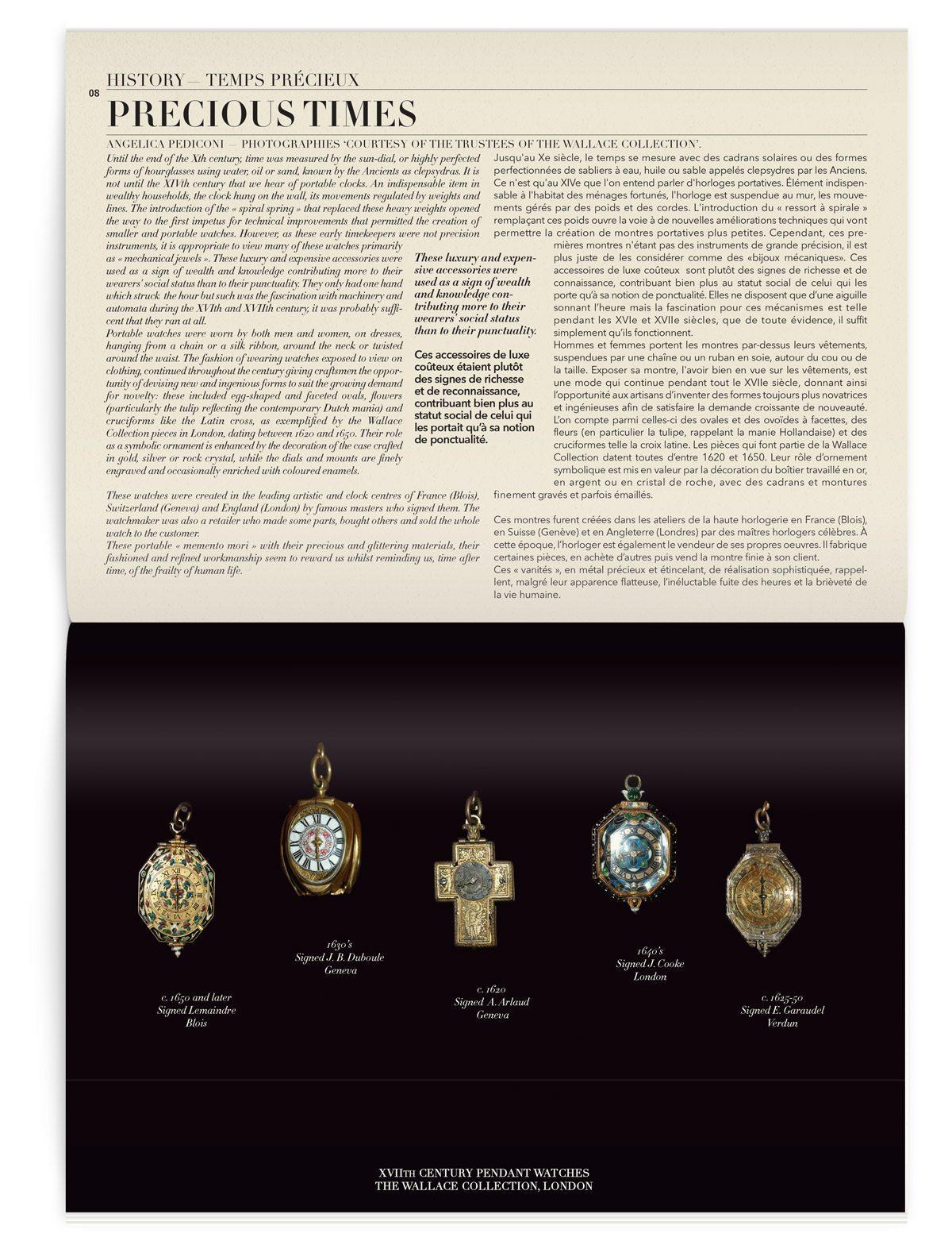 Iconofly, première revue d'art et d'histoire autour d'un accessoire, le numéro 2 est sur la montre, design IchetKar