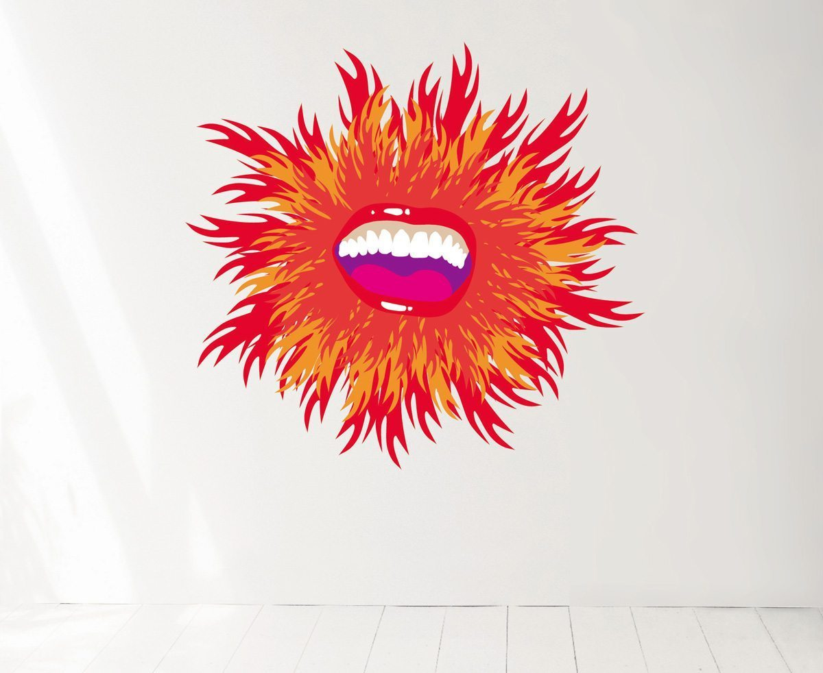 Wallsticker Sunshine, design IchetKar, edition Domestic