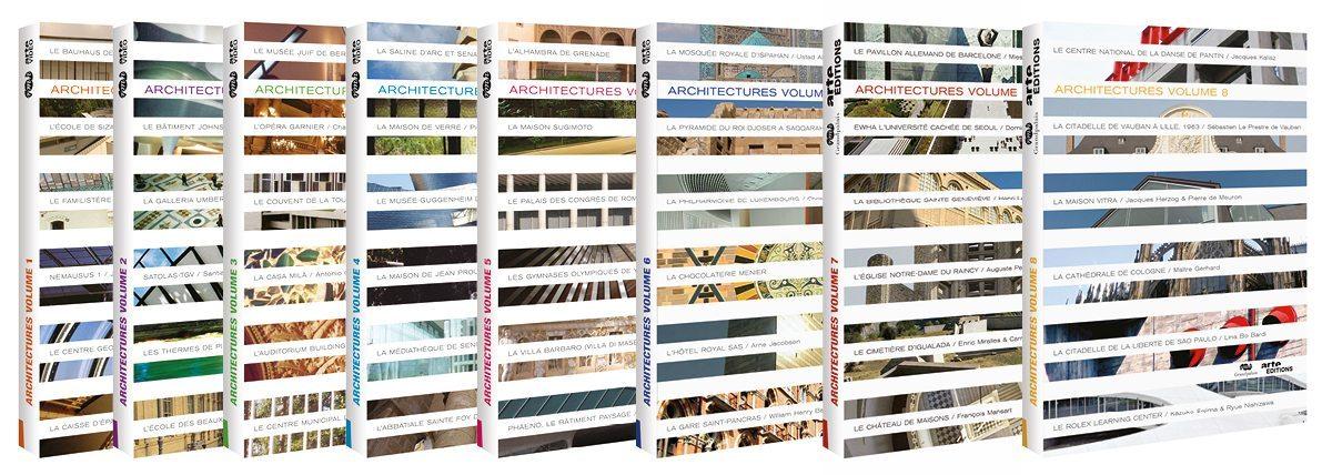 Les jaquettes DVD Arte Architectures, IchetKar