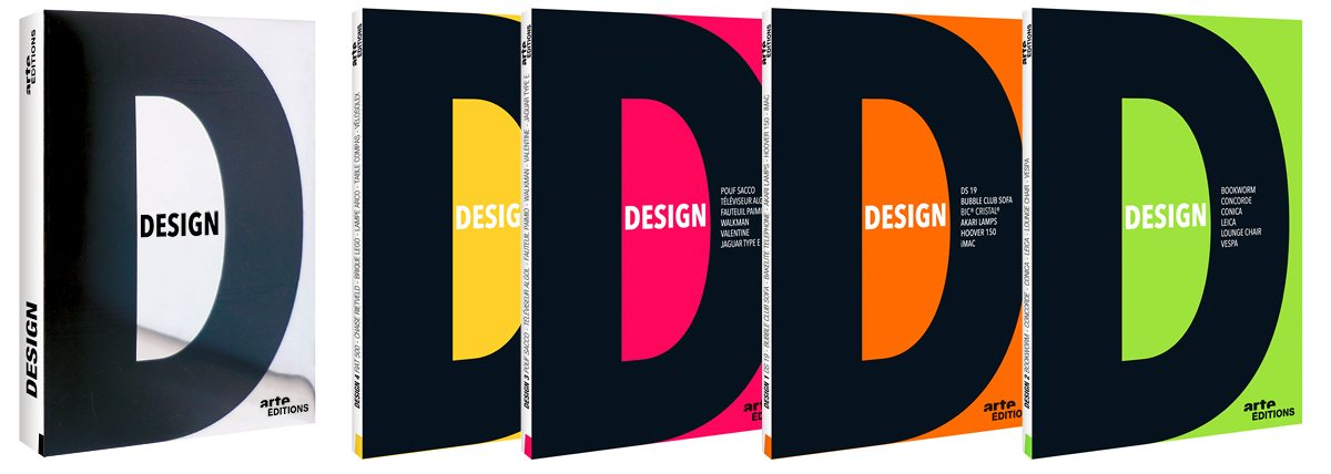 Le coffret de la collection Design d'Arte, design IchetKar