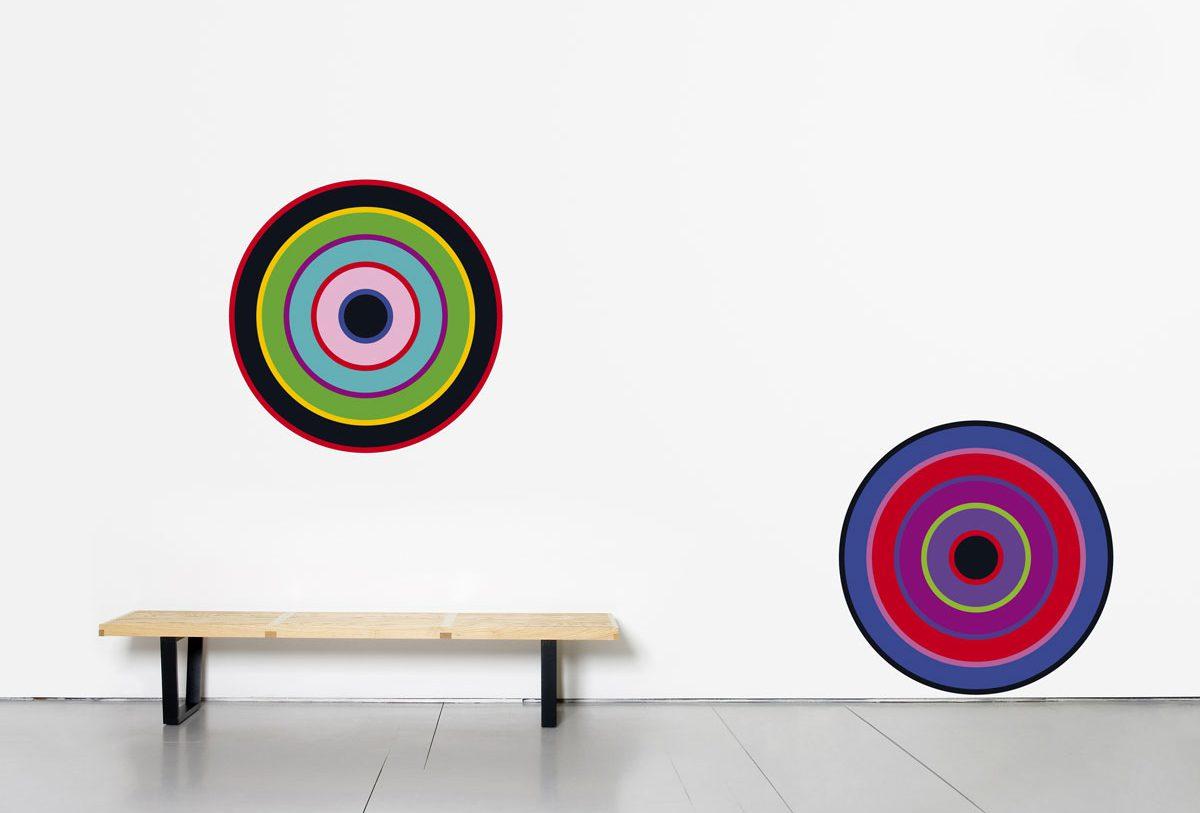 Wallstickers Domestic, target, cible graphique, design IchetKar