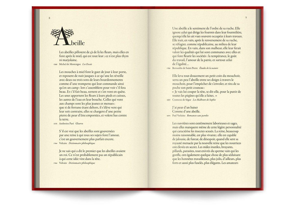 Mots animaux éditon Buchet Chastel - design ichetkar