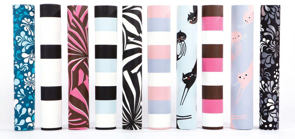 Les rouleaux de papiers peint phosphowall , design IchetKar