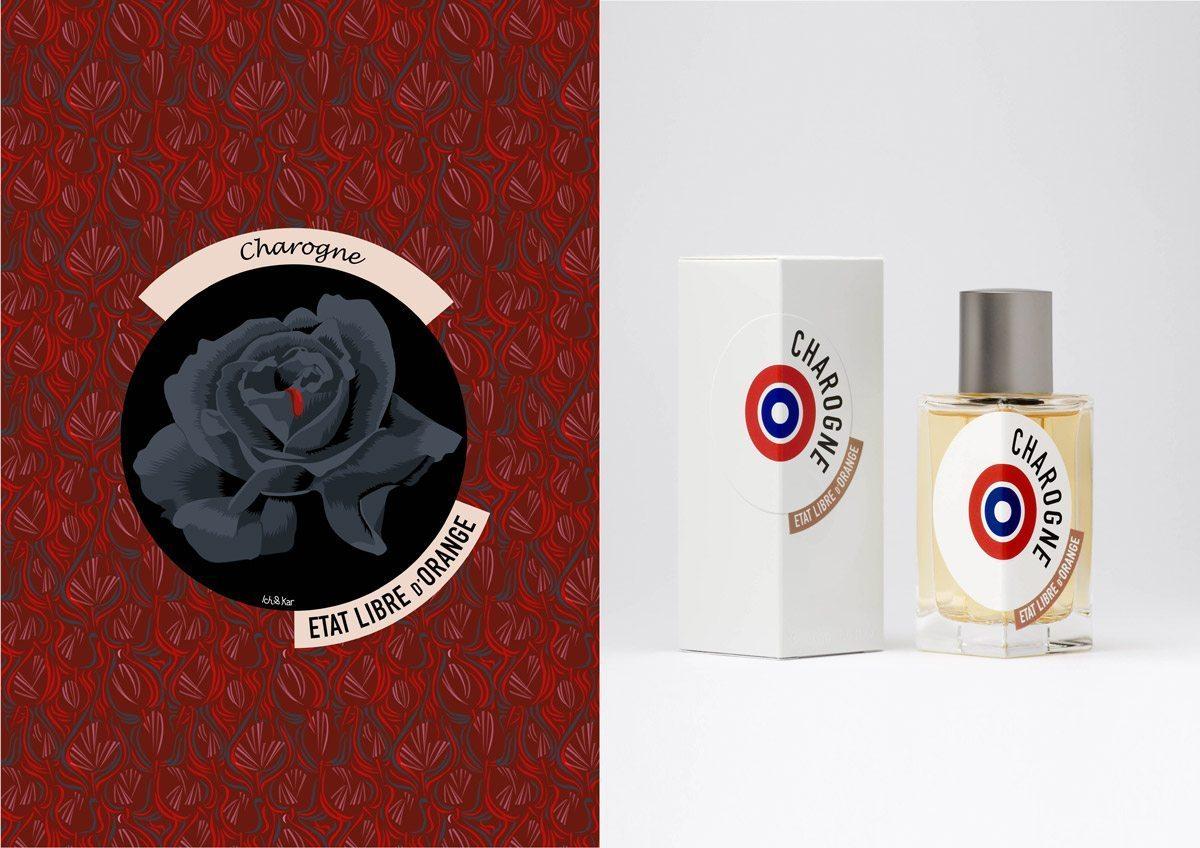 Le parfum Charogne, État Libre d'Orange, illustration IchetKar