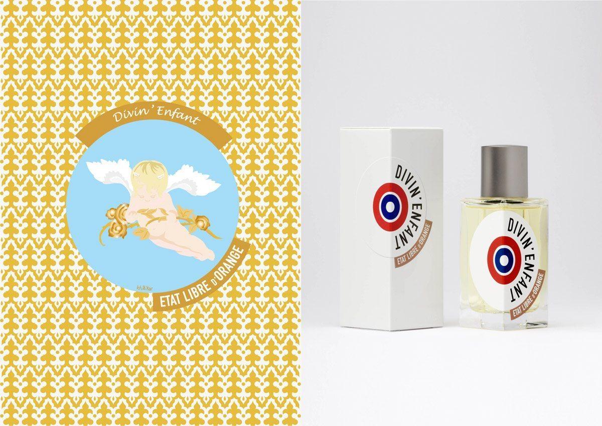 Le parfum Divin' Enfant, État Libre d'Orange, illustration IchetKar