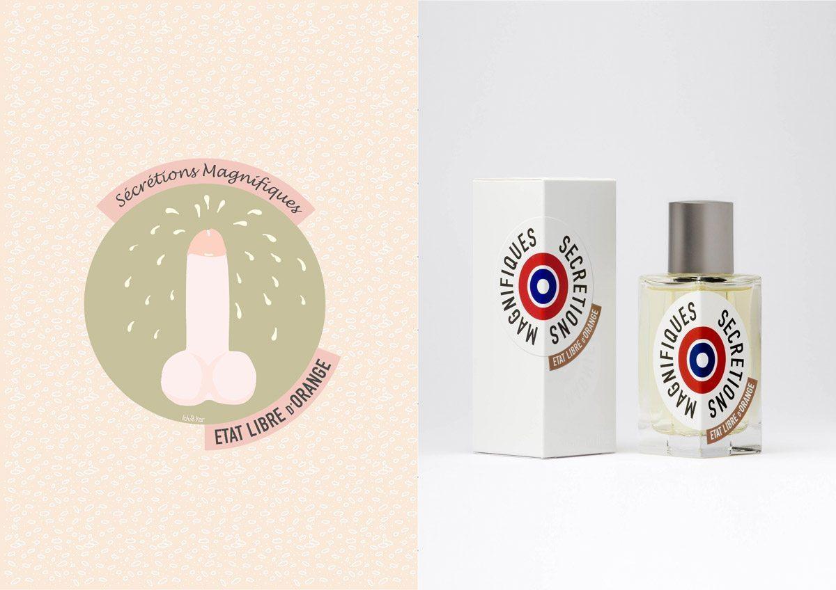 Le parfum Secretions Magnifiques, État Libre d'Orange, illustration IchetKar