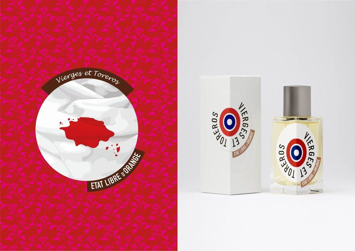 Le parfum Vierges et Toreros, État Libre d'Orange, illustration IchetKar