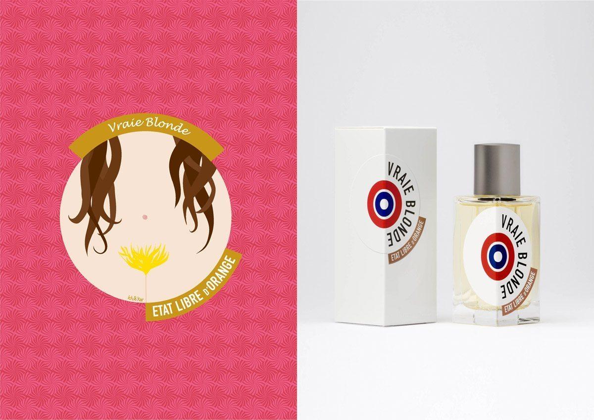 Le parfum Vraie Blonde, État Libre d'Orange, illustration IchetKar