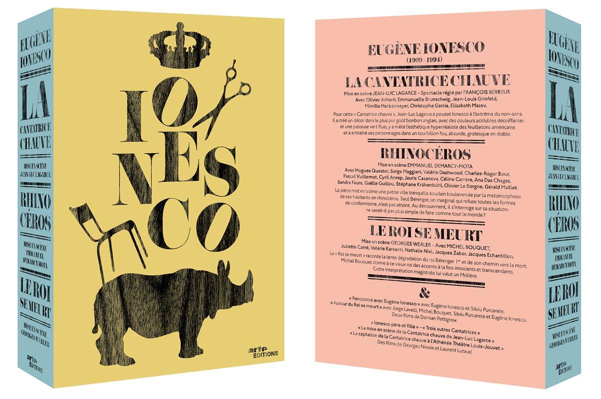 Le coffret Ionesco d'Arte, design IchetKar