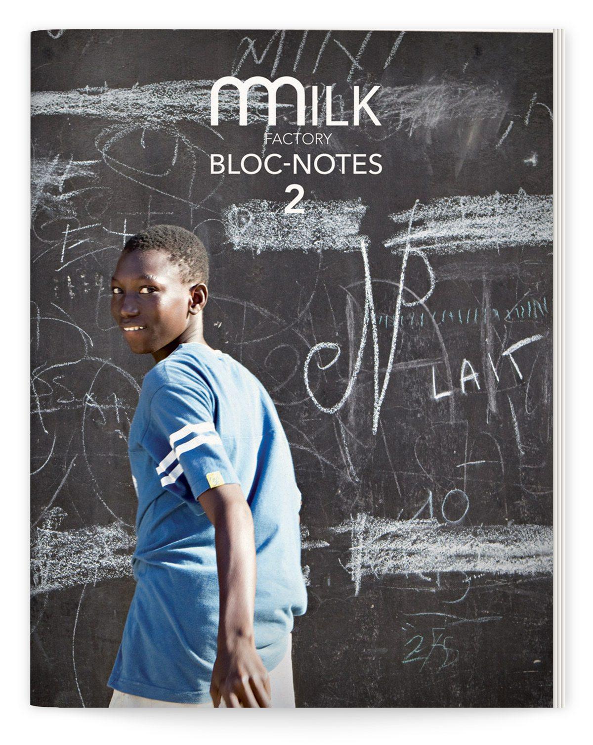 bloc-notes milk factory 2 couverture