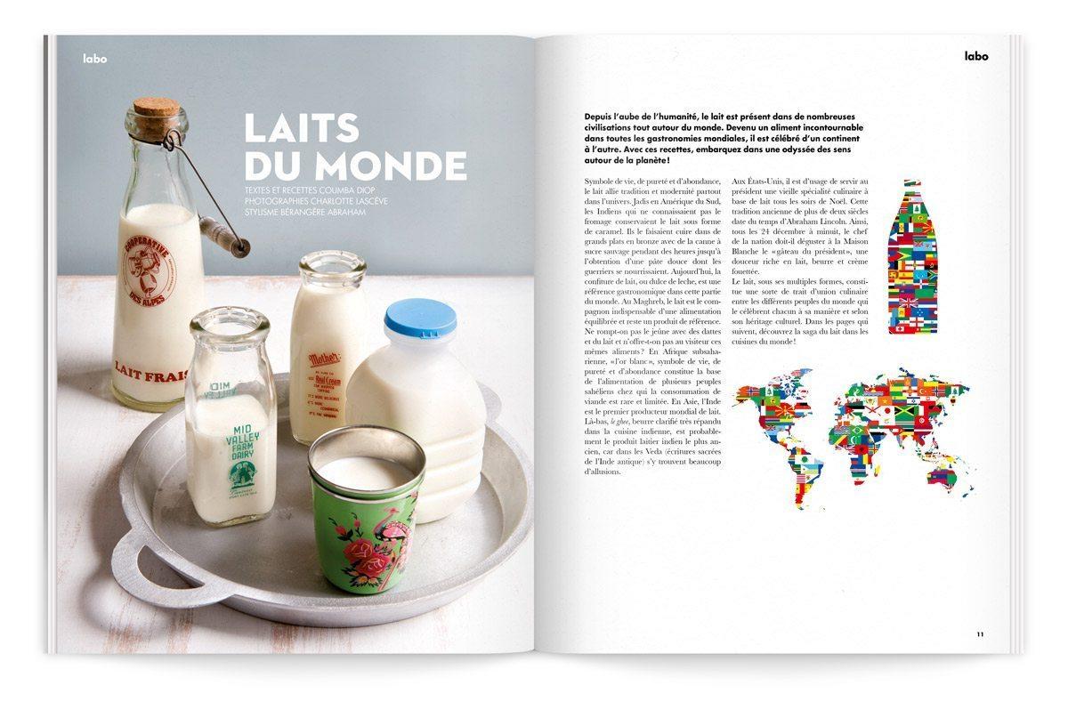 bloc-notes milk factory 2 laits du monde carte du lait ichetkar