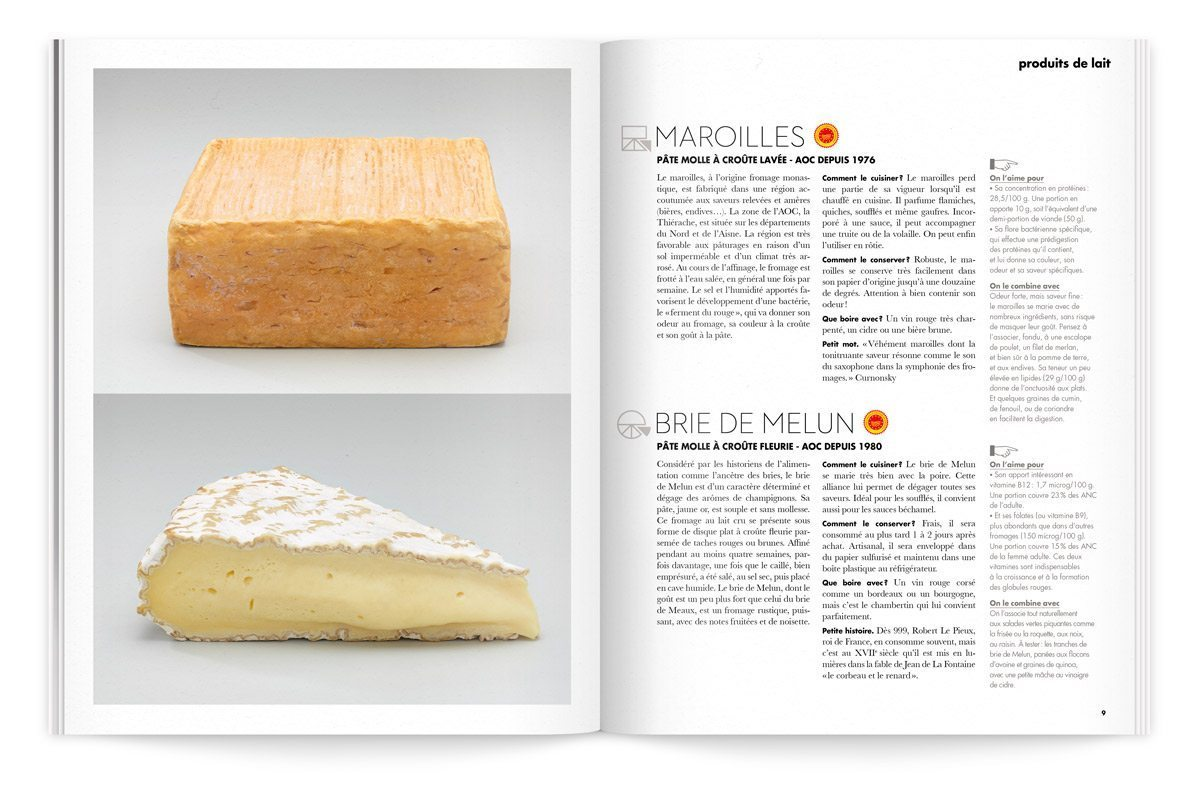 bloc-notes maroilles et brie photo tania et vincent