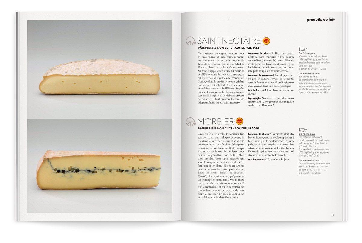 bloc-notes 4 aux trois fromages photo tania et vincent composition saint-nectaire et morbier