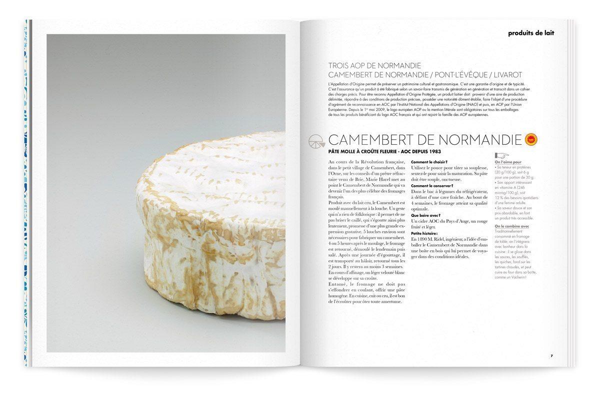 bloc note 1 le lait aux trois fromages camembert photo tania et vincent