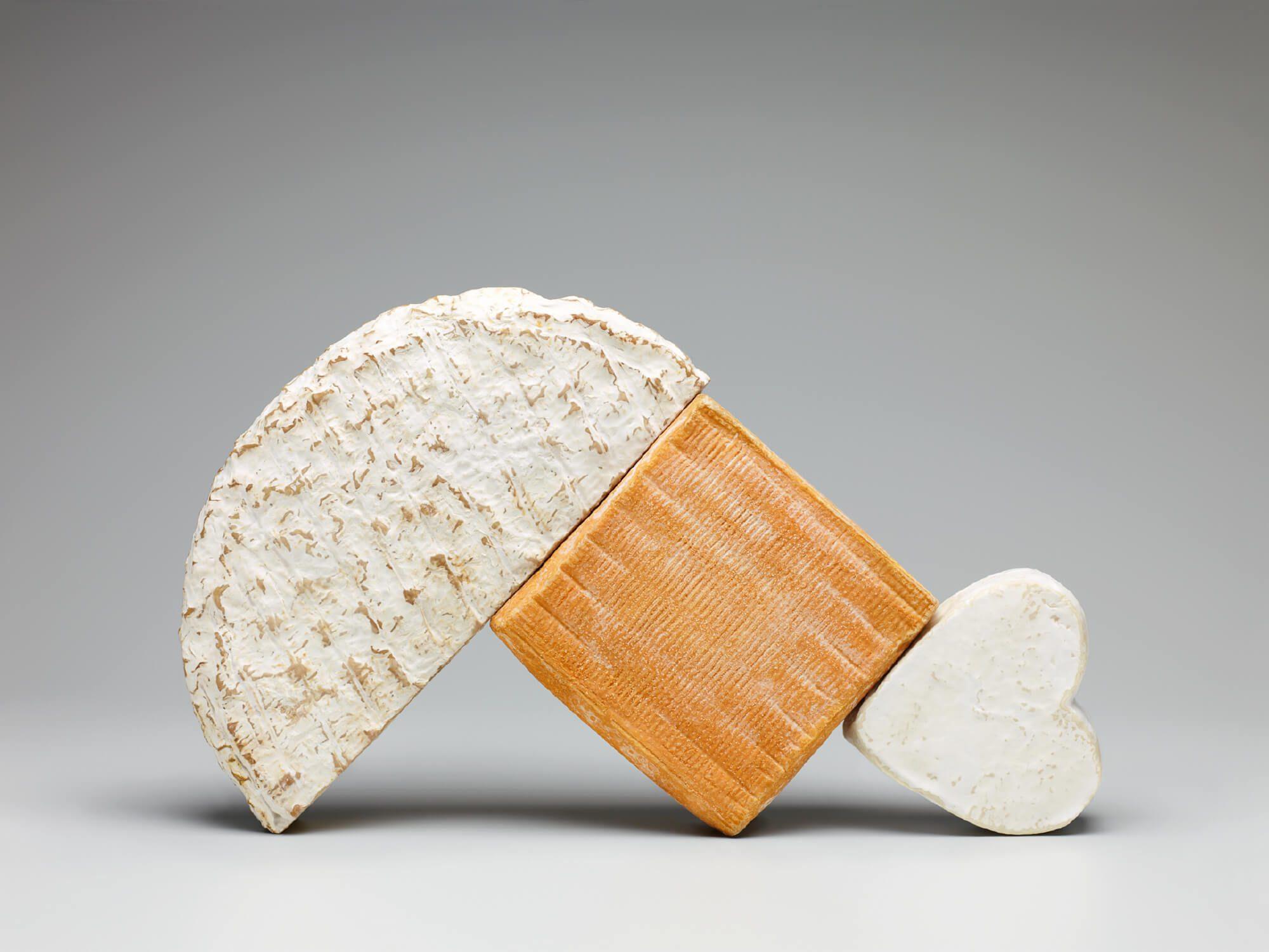 Helena Ichbiah à la direction artistique et Tania et Vincent à la photo pour le bloc notre 3 fromages
