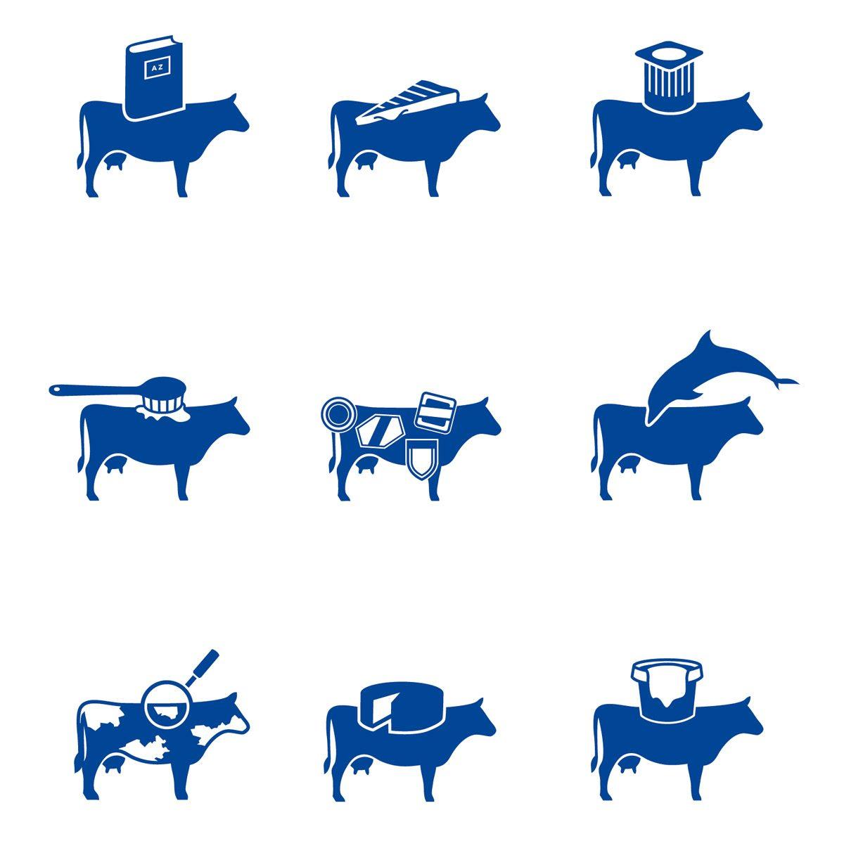 milk kit pictogrammes vache