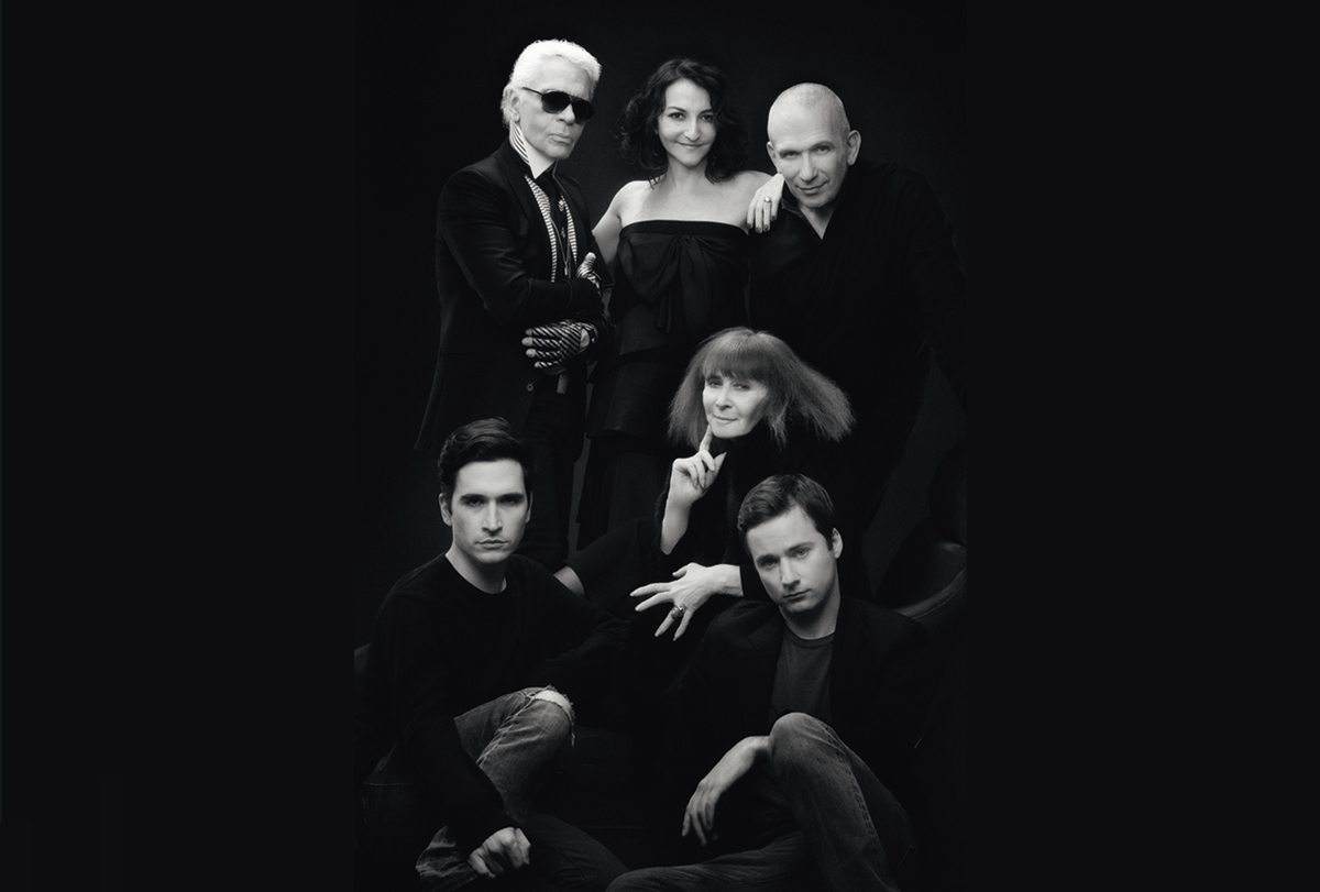The Day Before d'Arte, les styliste reunis sur une photo, un documentaire de Loic Prigent, design IchetKar