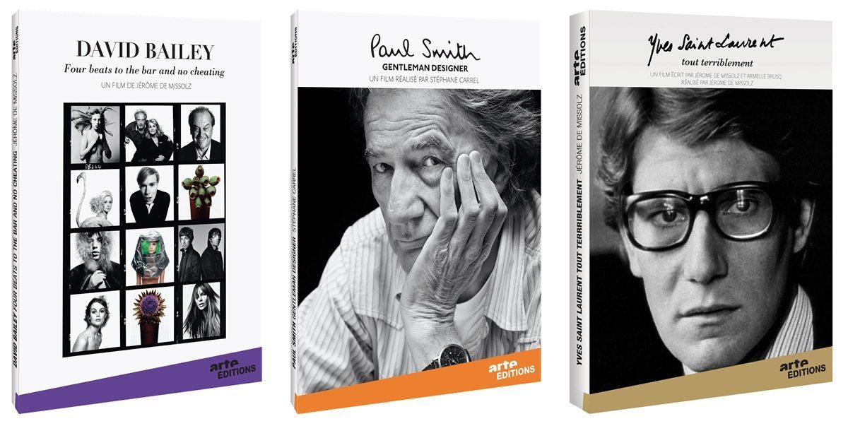 Le DVD Arte Mode sur David Bailey, Paul Smith, Yves Saint Laurent, design IchetKar