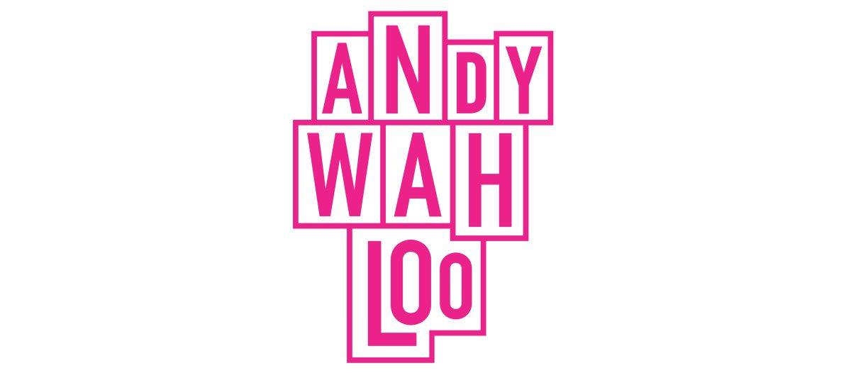 andy wahloo logo rose pop art rebeu