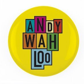 anfy wahloo badge pop art