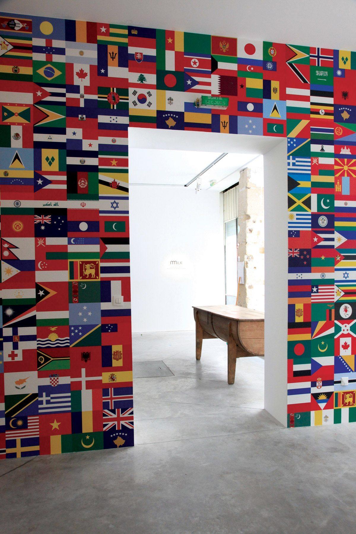 exposition laits du monde papier peint abcdrapeaux drapeaux du monde