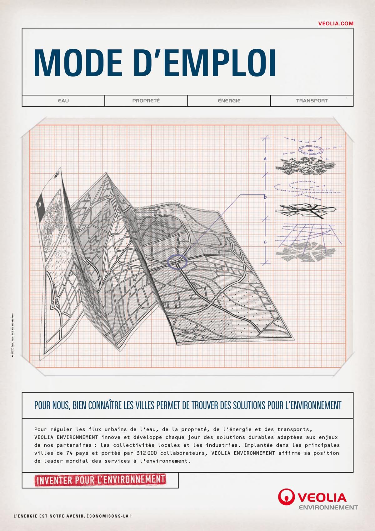 camagne publicatire betc pour veolia illustration ich&kar